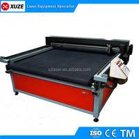 Double head automatic CNC laser textile wool felt leather cutting machine price/paper laser cutting machine price