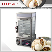 WISE Kitchen Commercial Chinese Bun Steamers Square Type For Commerical Restaurant Use