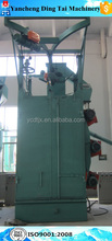 Bicycle frame hook type sand blasting machine/shot blast equipment for sale