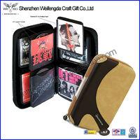 Exquisite Design Top Grade EVA elegant dvd case for 80 CDs