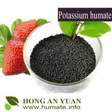 High Soluble Potassium Humate Flake Soil Conditioner