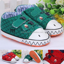 wholesale dinosaur design happy baby girl shoes