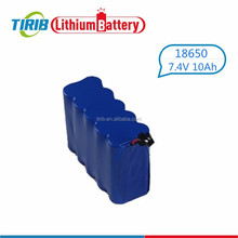2S4P 18650 Rechargeable 7.4v 10000mah Li ion Battery for Bicycle Light HeadLamp