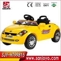 Flashing children electric Ride on car with light and sound kids RC car\Toy vehicles HT-99815