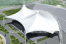 Large Square Stage Tensile Cover Membrane