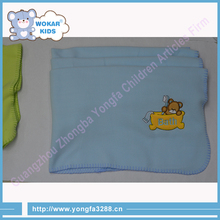 Pure Cotton Blanket Baby Use Cheap Polyester Blanket