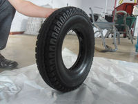 2015 New Products small pneumatic rubber wheel for trolley 410/400-8
