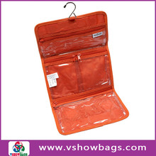 Wholesale Rolling Up Toiletry Bag PVC Waterproof Toiletry Wash Bag Hanging Foldable Travel Wash Bag