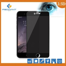 silk printing color tempered glass screen protector privacy tempered glass screen protector for iphone6S
