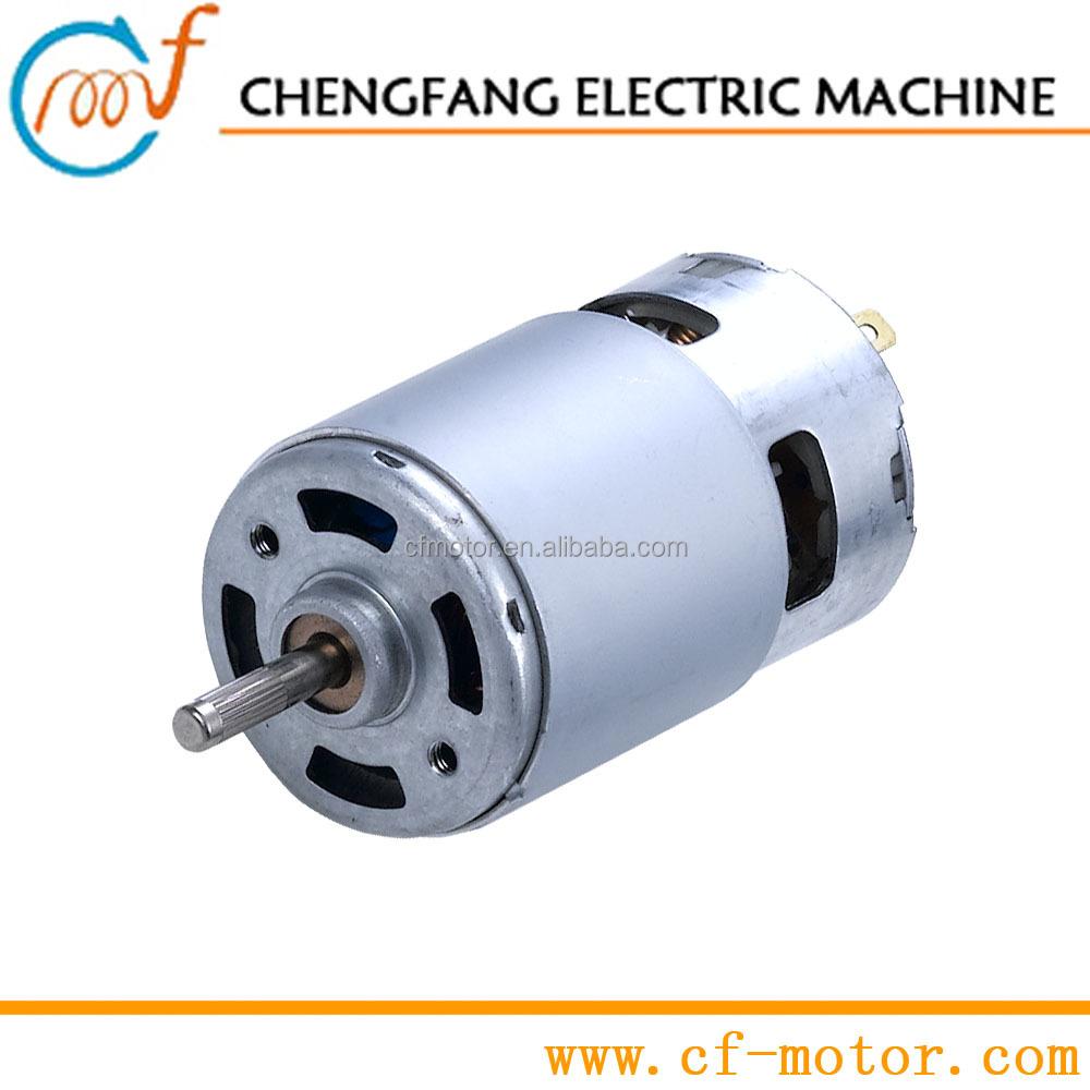Small 3v 6v 12v 18v 24v dc motor controller dc motor 500 for 12 v dc motor