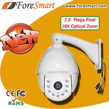360 degree cctv camera 2mp 1080p 18x ir ptz speed dome ip camera auto motion tracking ip camera