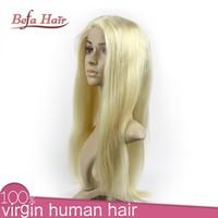 Asian women hair wig/long human hair full head wigs/color blonde full lace wigs for black women