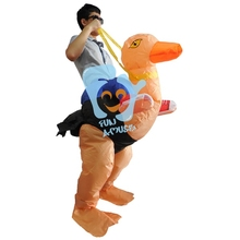 Supply Adult Holiday Inflatable Ostrich Costume