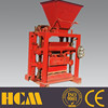 hydraulic block forming machine hollow block molding machine QTJ4-35 small industry machines india