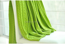 2015 knitted 100% pure cashmere blanket for baby