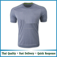 customized real grey highest quality soccer jerseys football jersey free shipping to SPAIN MADRID
