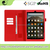 Whlesales Top quality PU leather Cover for Amazon Kindle fire
