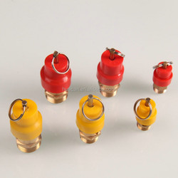 Red/Yellow Hat Safety Valve