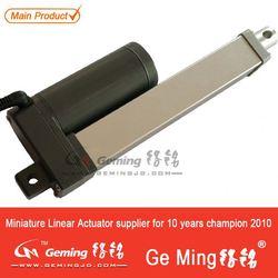 linear actuator for trap door