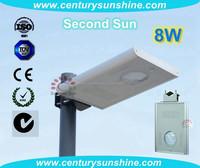 New 8W solar system dubai for sale all in one solar led street light