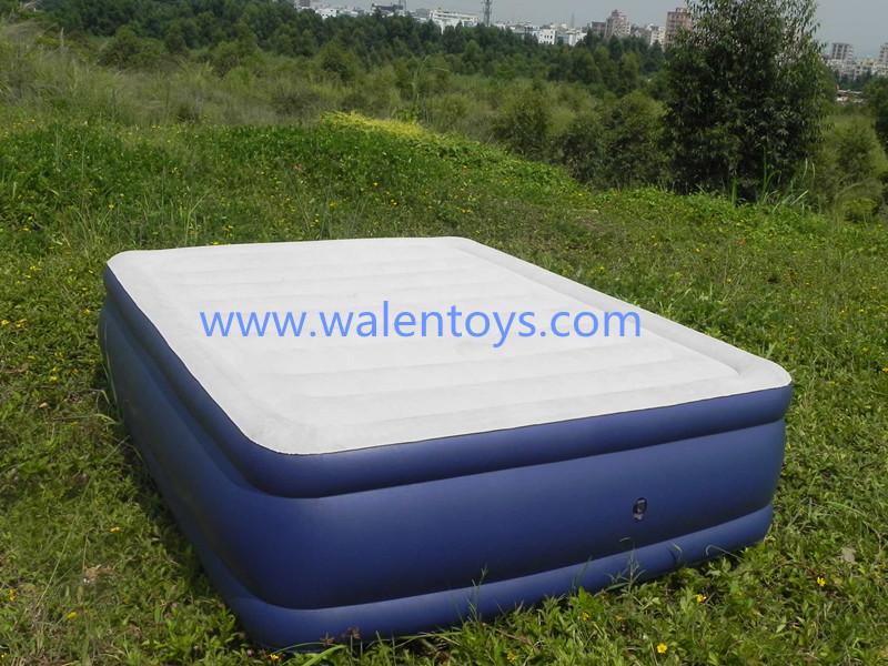 Saco de dormir inflable, dormir camas inflables ajustados para los ...