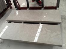 polished white limestone