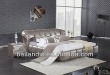 modern leather bed AH611