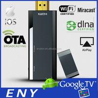 PTV-MINI wifi display dongle 2.4G wifi work with smart phone, iphone/ipad, tablet, laptop, google tv