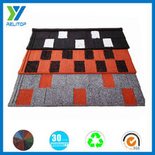 Beautiful And Colorful Steel Roof Tile/Colorful Stone metal roof tile