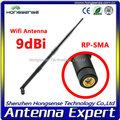 wifi antena de largo alcance antena 9 dbi con conector tnc