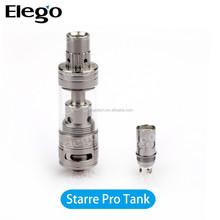Elego Supply First TC Tank FreeMax Starre Pro TC Sub Ohm Tank 4.0 ml temp control tank, subtank mini bell cap