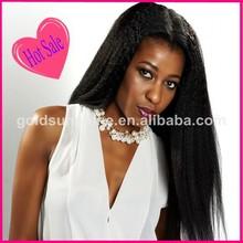China Wholesale Express Alibaba Mongolian Hair Kinky Straight Human Hair Full Lace Wigs For Black Women