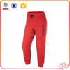 Men's Printed Jogger pants plain color cheap price EMB fleece pants