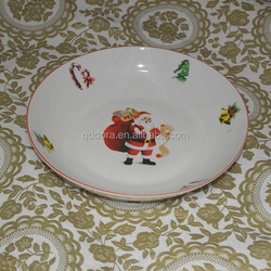linyi porcelain plate, ceramic Salad plates, Dessert plates