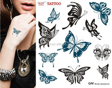 Custom Fashionable Body Temporary/ Tattoo Sticker /Body Sticker