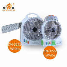 latest multifunctional long time running electric stand led rechargeable fan