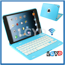 Hot sell Protection Bluetooth 3.0 Wireless Keyboard Case for ipad mini / mini 2 Retina