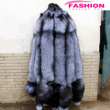 High Quality silver Fox Fur skins / wholesale Fox Fur for clothing china / real fox fur skin