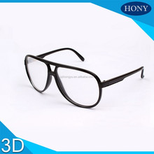 Cool Aviator Thicken Lens Linear 3d Glasses For Imax Cinema Use