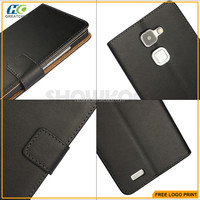 for huawei mate 7 leather case, Showkoo mix colors wallet leather cases for huawei Ascend Mate 7