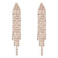 Big Charm Shining Fancy Earrings for Party Girls Chandelier Earrings