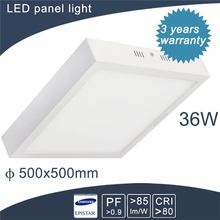 big power led flat light panels with white frame TUV,CE,RoHS Approvaled