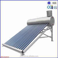 cooper coil solar water heater with CE and Solar Keymark certificate