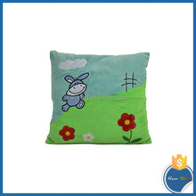 Soft Baby Plush Cushion With Embroidery Designs
