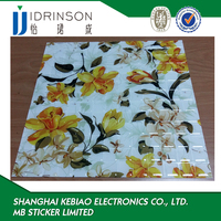 custom wall skin tile epoxy paper decoration