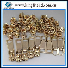 High Quality Gold Metal Slider and Puller