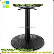 Garden round table base