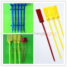 Plastics locking cable tie