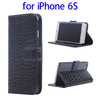 order in alibaba from china PU Leather flip mobile phone case for iPhone 6S made in China