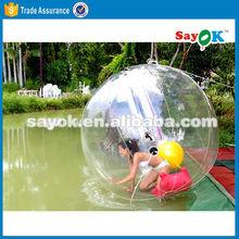 giant jumbo inflatable water polo ball price/ bubble ball water